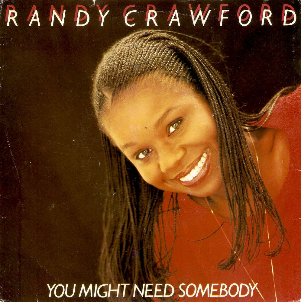 RANDY CRAWFORD You Might Need Somebody Vinyl Record 7 Inch Warner Bros. 1981